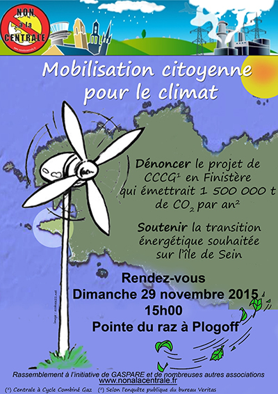 Manifestation Gaspare - Plogoff