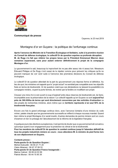 Notes de cadrage- FNE