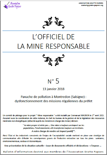 Officiel des mines n°5