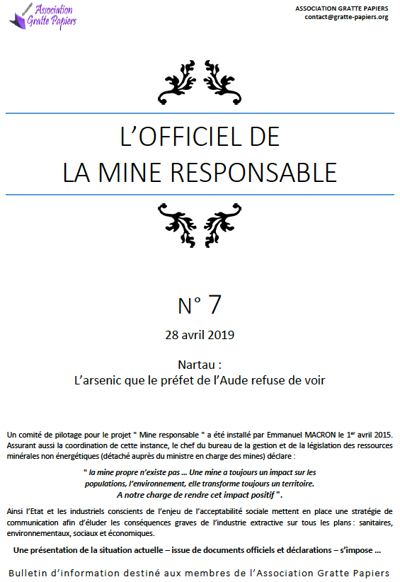 Officiel des mines
