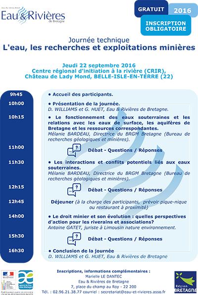 JT- Eau et Rivières - 22-09-2016