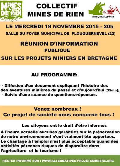 Affiche réunion Plouguernevel  nov 2015
