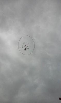 Hélicoptère de Variscan Mines