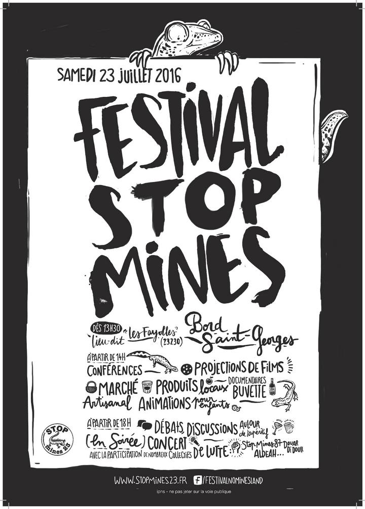 Affiche Stopmines23 - juillet 2016
