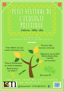 Festival Écologie politique - Morlaix - 14-04-2018