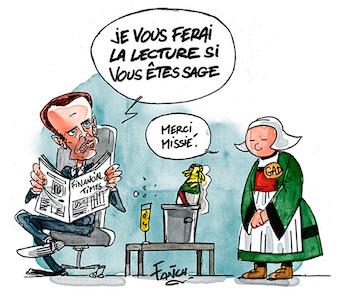 Becassine et Macron