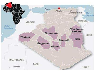 Gaz de schiste - Algérie
