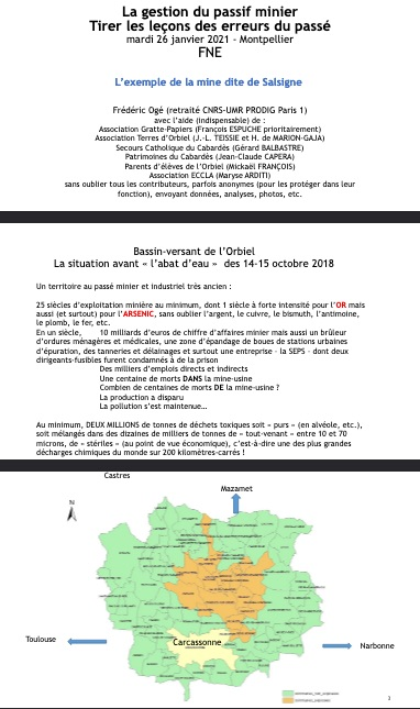 dossier - FNE- Gestion du passif minier