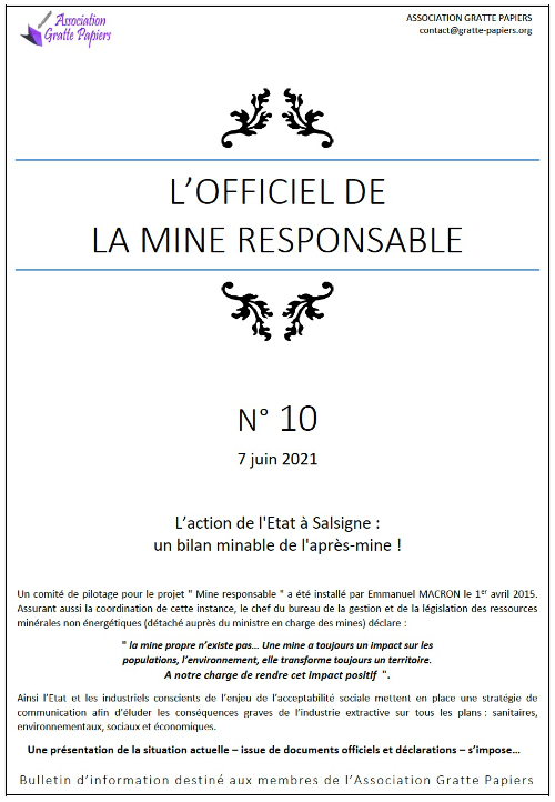 Officiel des mines - n°10