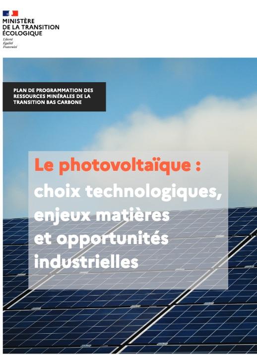 Plan ressources photovoltaïque