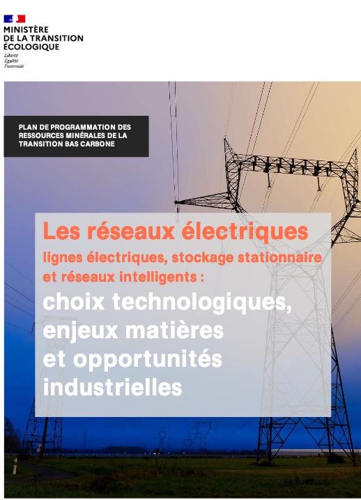 Plan ressources réseaux électriques