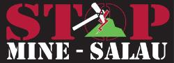 logo Stop Mine Salau